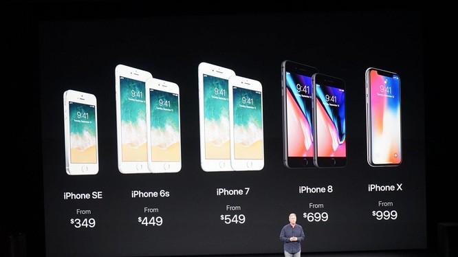 CEO Apple, Tim Cook trong lễ ra mắt iPhone X (ảnh: Tech Insight)