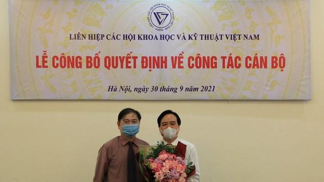 GS.TS Phùng Xuân Nhạ kiêm nhiệm chức Phó Chủ tịch Liên hiệp các Hội KHKT Việt Nam