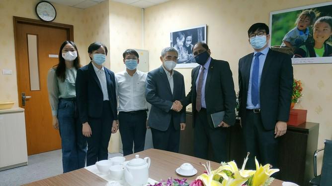 Phái đoàn Đại sứ Singapore và Hội Truyền thông số Việt Nam thảo luận về phát triển kinh tế số