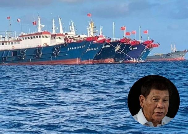 """Tổng thống Philippines: """"Dù có bị Trung Quốc giết tôi cũng không rút tàu!"""""""