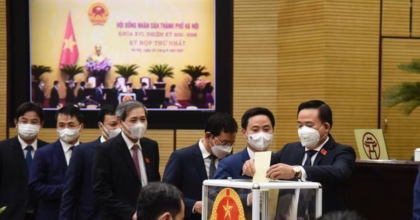Hà Nội có 6 Phó Chủ tịch UBND thành phố