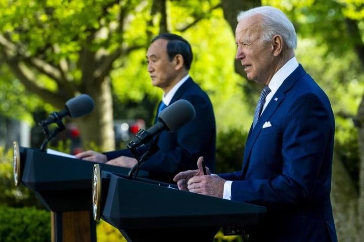 """Lãnh đạo Mỹ, Nhật cam kết chống lại """"hành động đe dọa"""" của Trung Quốc trên Biển Đông, biển Hoa Đông"""