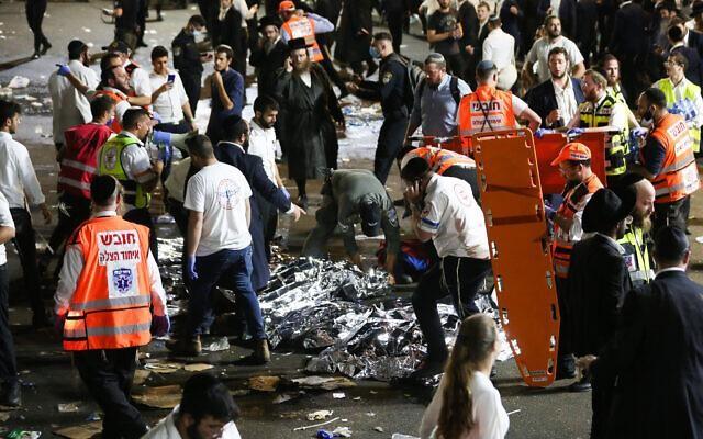Thảm họa giẫm đạp ở Israel khiến hơn 40 người chết