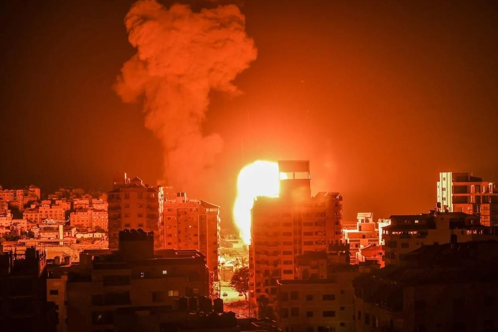 Israel tiến hành đợt không kích lớn hơn tại một số địa điểm ở Gaza