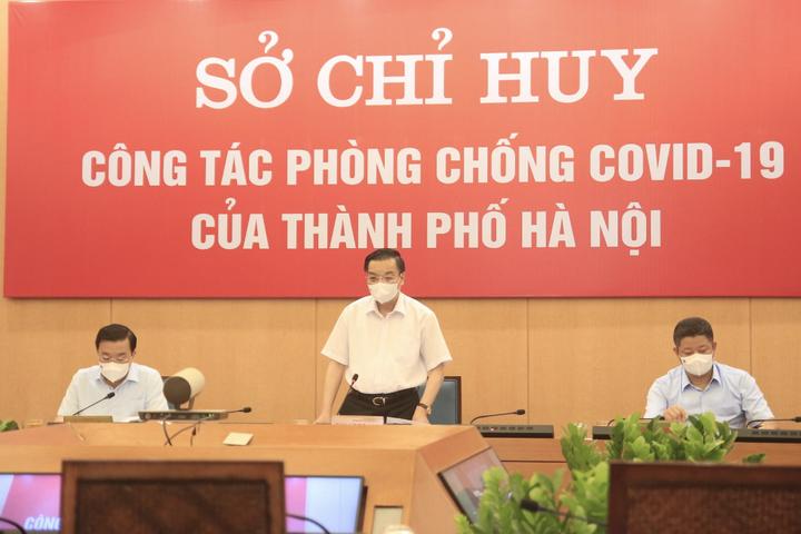 """Chủ tịch UBND TP. Hà Nội: Xử phạt nghiêm vi phạm để tận dụng """"thời gian vàng"""" chống dịch COVID-19"""