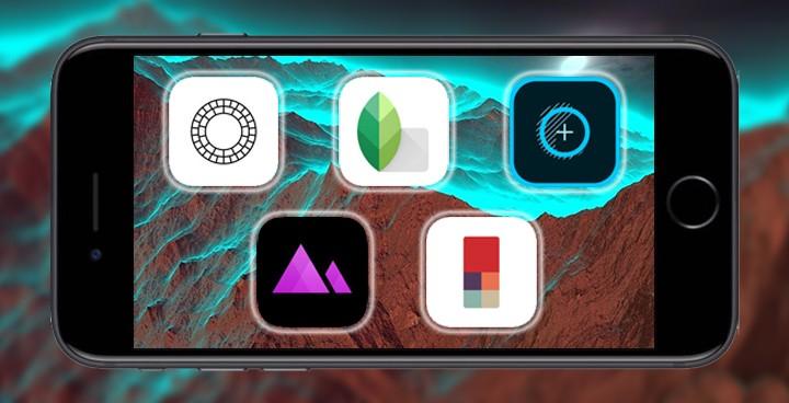 5 ứng dụng chỉnh sửa ảnh tốt nhất trên điện thoại