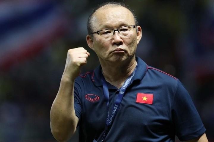 Hàn Quốc treo băng rôn chúc mừng đội tuyển Việt Nam, thầy Park viết thư cảm ơn các học trò