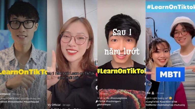 Ý nghĩa khác biệt của hành trình #LearnOnTikTok tại Việt Nam