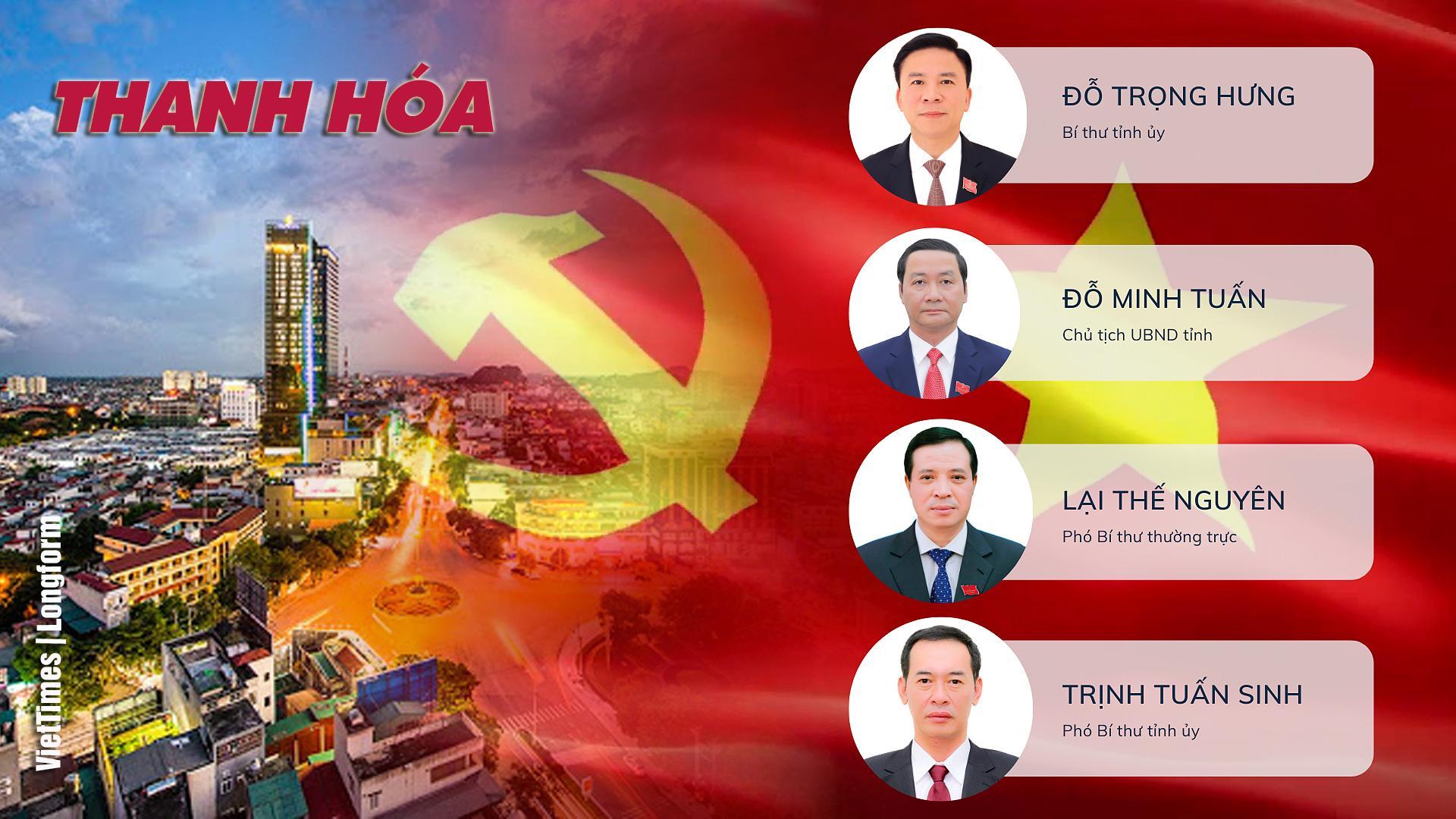 Lãnh đạo tỉnh Thanh Hóa