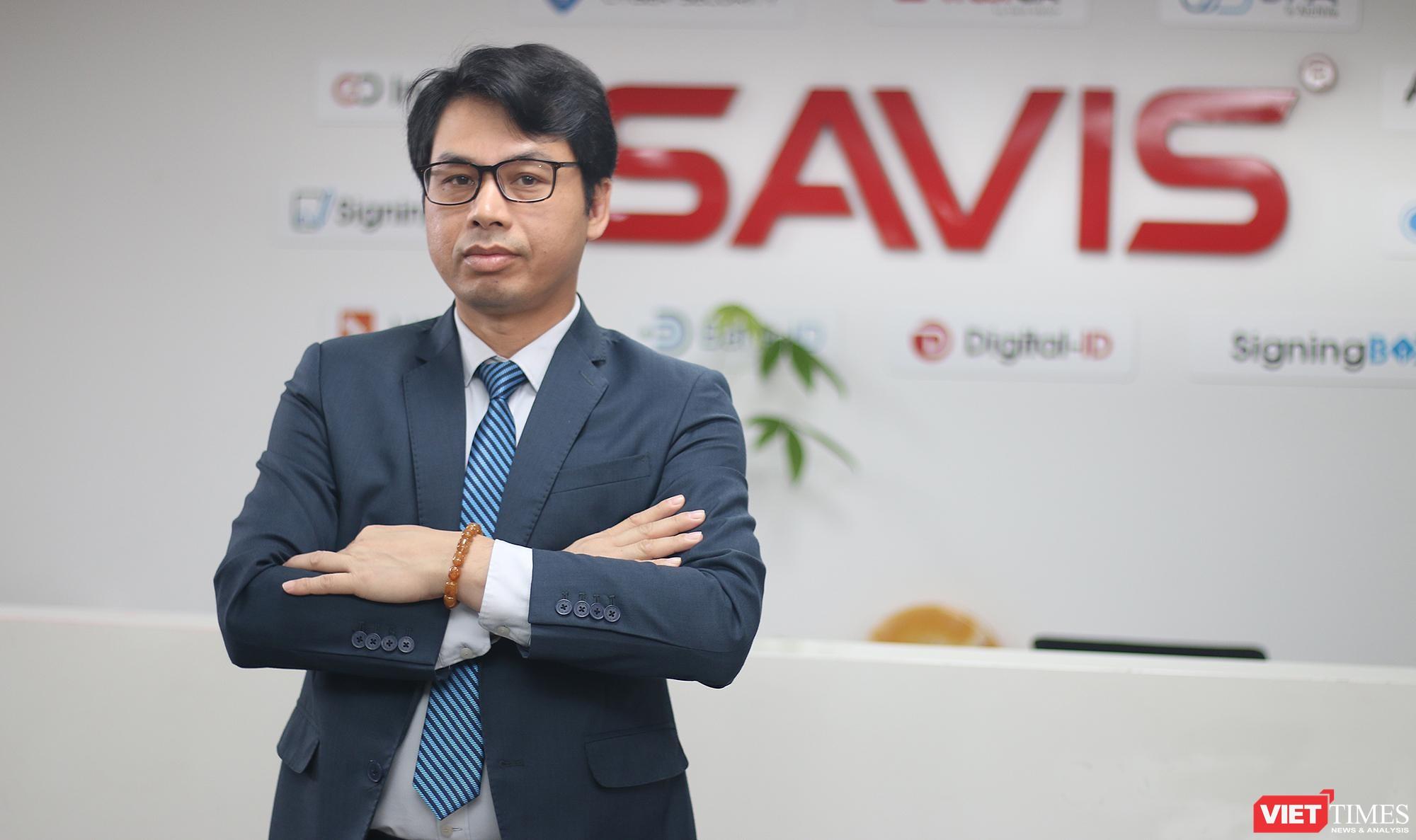 Ông Hoàng Nguyên Vân – Tổng Giám đốc Công ty Cổ phần Công nghệ SAVIS.