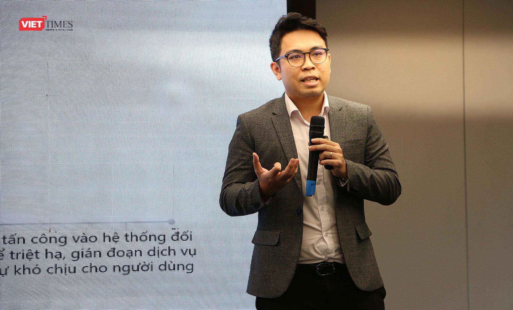 Ông Hà Thế Phương – Phó tổng Giám đốc CMC Cyber Security.