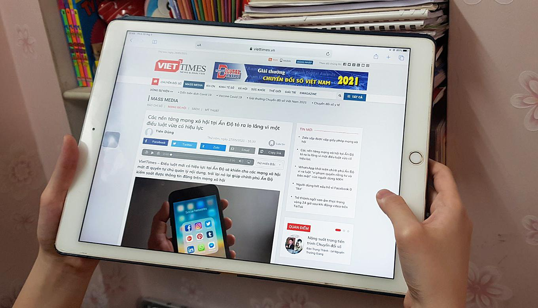 Quảng cáo bị hạn chế thời lượng sẽ ảnh hưởng đến nguồn thu của báo điện tử và sự phát triển của ngành quảng cáo