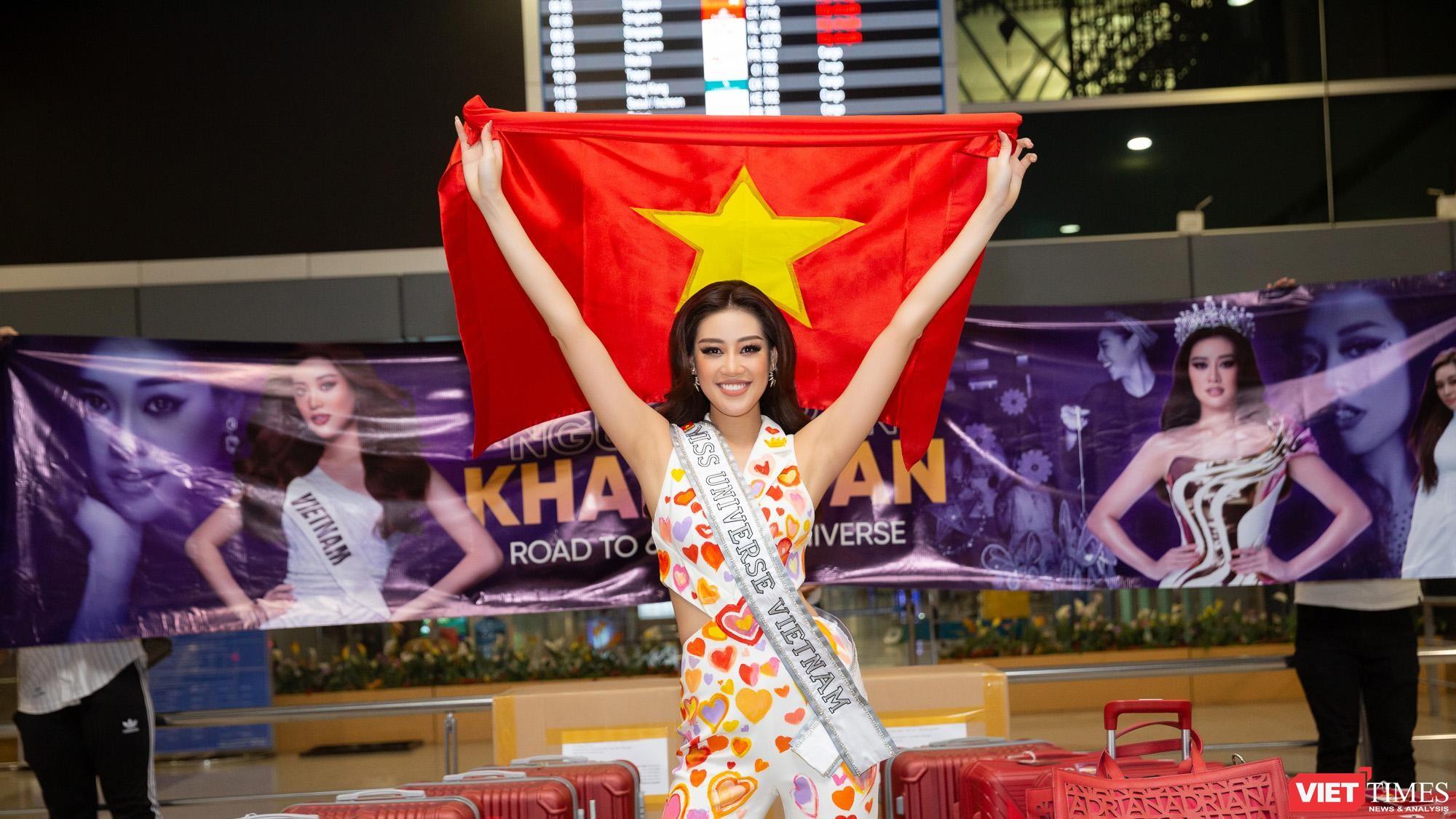 Hoa hậu Khánh Vân vừa đến Mỹ đã được dự báo có thể vào Top 21 Miss Universe