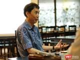 """TS. Võ Trí Thành: """"Đừng nhìn Trung Quốc về mặt số liệu mà đánh giá thấp vị thế của quốc gia này"""". (Ảnh: Hoàng Nguyên)"""