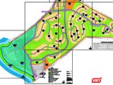 Một phần quy hoạch 1/500 của dự án Khu du lịch sinh thái Green Hill do Cty Hải An Huy làm chủ đầu tư