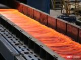 Dây chuyền sản xuất thép của Tập đoàn Hòa Phát