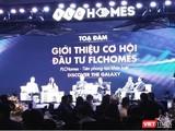 Buổi lễ ra mắt, giới thiệu cơ hội đầu tư cổ phiếu FHH (Ảnh: P.D)