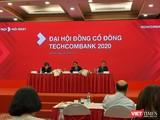 Ban chủ tọa phiên họp ĐHĐCĐ thường niên năm 2020 của Techcombank (Ảnh: P.D)
