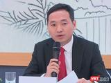 CEO Gelex Nguyễn Văn Tuấn phát biểu trả lời cổ đông tại AGM 2021 (Ảnh chụp màn hình)