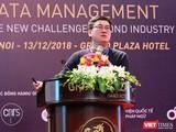 """Đồng sáng lập và Giám đốc Học viện AI Nguyễn Xuân Hoài phát biểu tại Hội thảo """"Quản lý dữ liệu: Thách thức vượt tầm công nghiệp 4.0"""" do Orchestra Networks và Smart-up đồng tổ chức"""