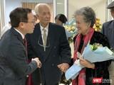 GS.TS. Tạ Thành Văn – Hiệu trưởng Trường Đại học Y Hà Nội - tri ân các giáo sư tiền bối của Trường
