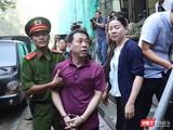Nguyên Tổng giám đốc VN Pharma Nguyễn Minh Hùng tại phiên tòa mới đây