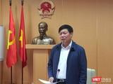 Ông Đỗ Xuân Tuyên - Thứ trưởng Bộ Y tế, Phó Trưởng Ban Thường trực Ban Chỉ đạo Quốc gia phòng, chống dịch COVID -19.