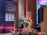 Ông Nguyễn Việt Dũng, Giám đốc Sở KH&CN TP.HCM tại phiên khai mạc sáng 24/11 (ảnh: Hòa Bình)