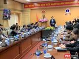 Bộ trưởng Bộ Y tế Nguyễn Thanh Long chủ trì cuộc họp trực tuyến với 700 điểm cầu trong cả nước về phòng, chống dịch COVID-19