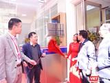 Cắt băng khánh thành Đơn vị Xét nghiệm Kỹ thuật cao của Bệnh viện Đại học Y Hà Nội