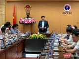 Bộ Y tế họp với các địa phương để tăng cường chống dịch