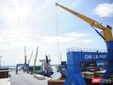 Một góc cảng Chu Lai (Quảng Nam)