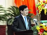 Ông Nguyễn Nho Trung - Chủ tịch HĐND TP Đà Nẵng phát biểu tại kỳ họp thứ 12 HĐND TP Đà Nẵng khóa IX