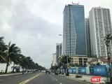 Dự án Tổ hợp khách sạn Mường Thanh và căn hộ chung cư cao cấp Sơn Trà trên đường Võ Nguyên Giáp, quận Ngũ Hành Sơn, TP Đà Nẵng