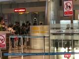 Một góc khu vực giám sát dịch tễ tại sân bay Đà Nẵng