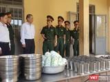 Trung tâm Huấn luyện dự bị động viên Đồng Nghệ (huyện Hòa Vang, Đà Nẵng) sẵn sàng cơ sở vậy chất để tiếp nhận, cách ly công dân Việt Nam về nước theo quy trình.