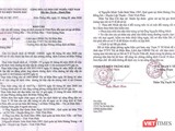 Văn bản báo cáo của y tế địa phương về trường hợp 4 lao động Vĩnh Phúc tại Quảng Nam