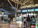 Một góc Nhà ga quốc tế Sân bay Đà Nẵng
