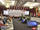 Quang cảnh phiên khai mạc Hội nghị thường niên lần thứ 13 và Hội nghị hẹp lần thứ 5 Kênh II Mạng lưới các Viện nghiên cứu Quốc phòng và An ninh ASEAN (NADI) diễn ra sáng 3/3 tại Đà Nẵng