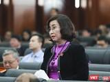 Bác sĩ Ngô Thị Kim Yến – Giám đốc Sở Y tế TP Đà Nẵng.