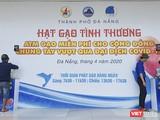 Sáng 20/4, 2 cây ATM gạo đặt tại trụ sở Thành đoàn Đà Nẵng đã chính thức hoạt động, góp phần chia sẻ khó khăn với người dân