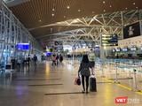 Một góc Sân bay quốc tế Đà Nẵng trong mùa dịch COVID-19