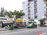 Vệt đất ven biển tại khu vực Sân bay Nước Mặn (quận Ngũ Hành Sơn, Đà Nẵng) được các doanh nghiệp Trung Quốc xây dựng nhà hàng, khách sạn.