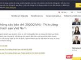 Website của Savills Việt Nam tiếp tục bỏ trống nghiên cứu thị trường BĐS Đà Nẵng (ảnh chụp màn hình)