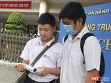 Thí sinh tham gia kỳ thi tuyển sinh vào lớp 10 THTP năm 2020 trên địa bàn TP Đà Nẵng