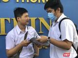 Thí sinh tham dự kỳ thi tuyển sinh lớp 10 năm 2020 tại TP Đà Nẵng