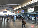 Sân bay Đà Nẵng vẫn hoạt động bình thường