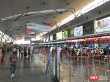 Hoạt động của Sân bay Đà Nẵng vẫn diễn ra bình thường
