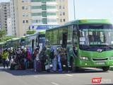 Đà Nẵng tổ chức phương tiện đưa công dân về quê khi dịch bùng phát mạnh trong năm 2020