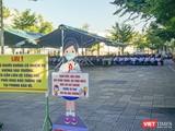 Một trường học trên địa bàn TP Đà Nẵng tuyên truyền phòng chống dịch COVID-19 cho học sinh